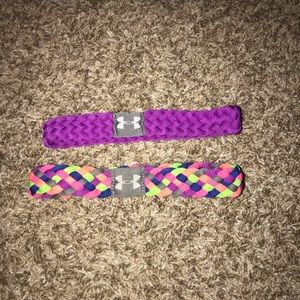 bundle of 2 under armour headbands